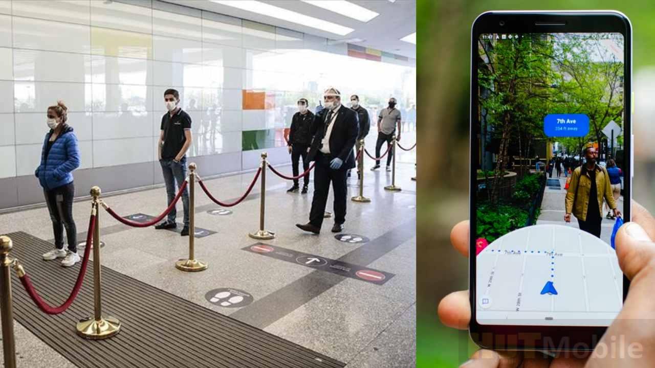 Ferramenta Sodar do Google usa AR móvel para distanciamento social